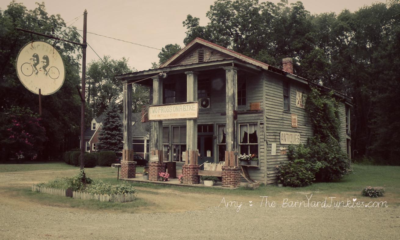 antique store the barnyard junkies