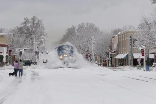 Small Town Snow Day